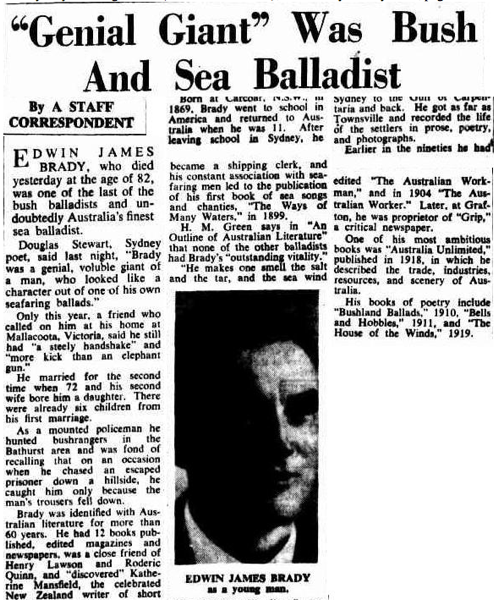 Sydney Morning Herald, 23 July 1952